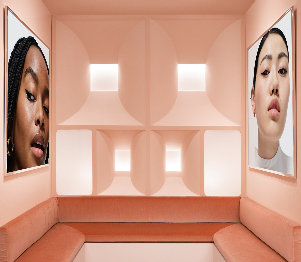 Glossier Atlanta pop-up