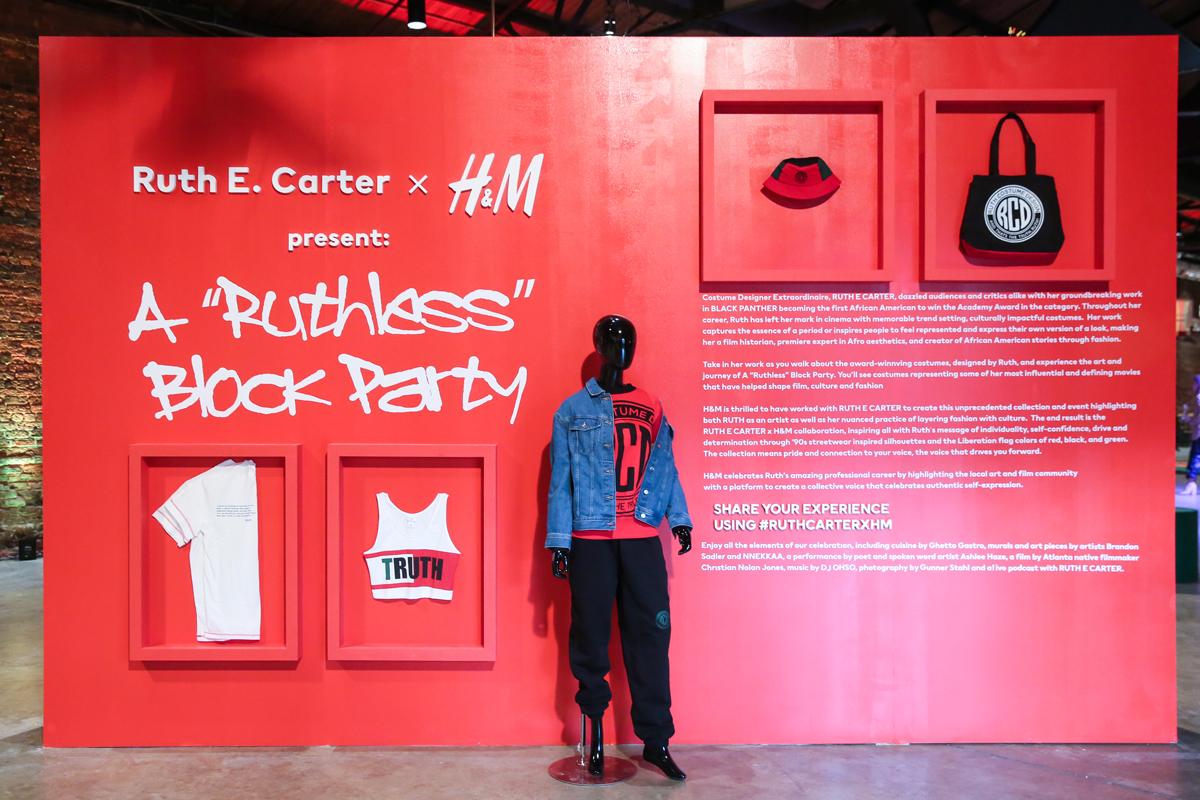 Ruth E. Carter H&M Collection Atlanta