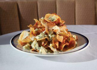 Buckhead Diner's homemade potato chips