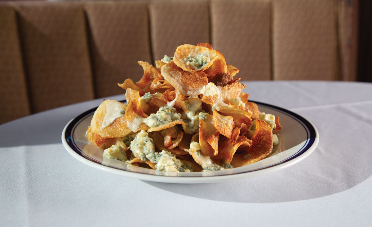 Buckhead Diner's homemade potato chips