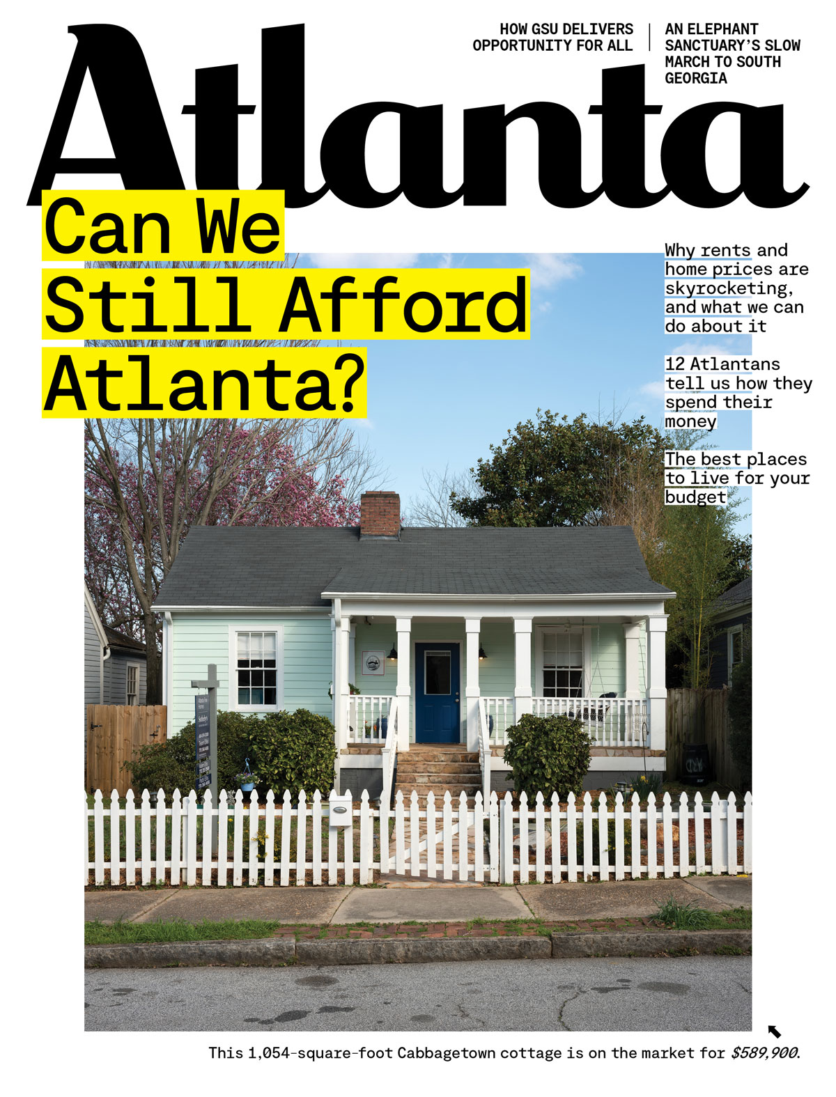Atlanta Magazine April 2020 issue