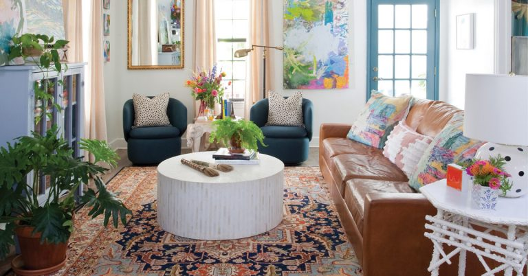 This charming Georgia farmhouse let an Atlanta artist get back to her country roots