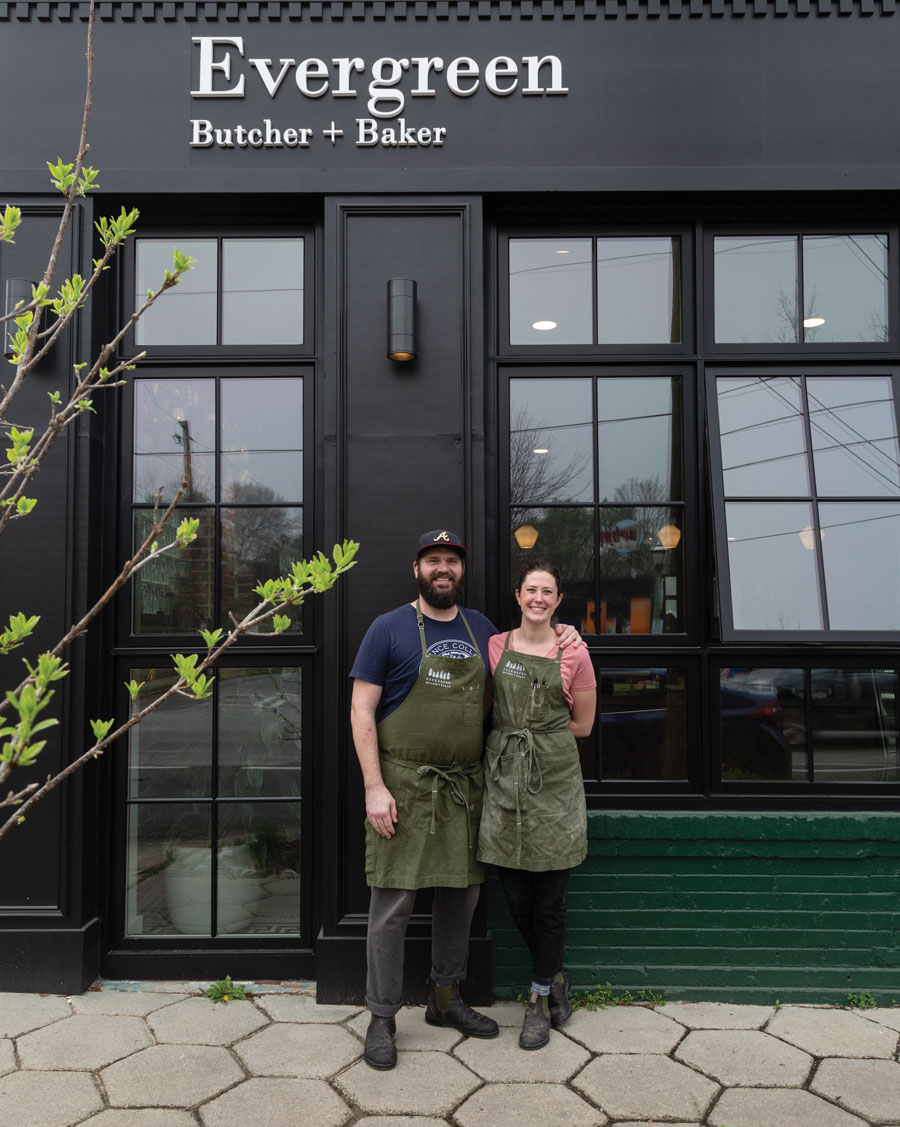 Evergreen Butcher and Baker