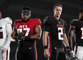 Atlanta Falcons uniform history