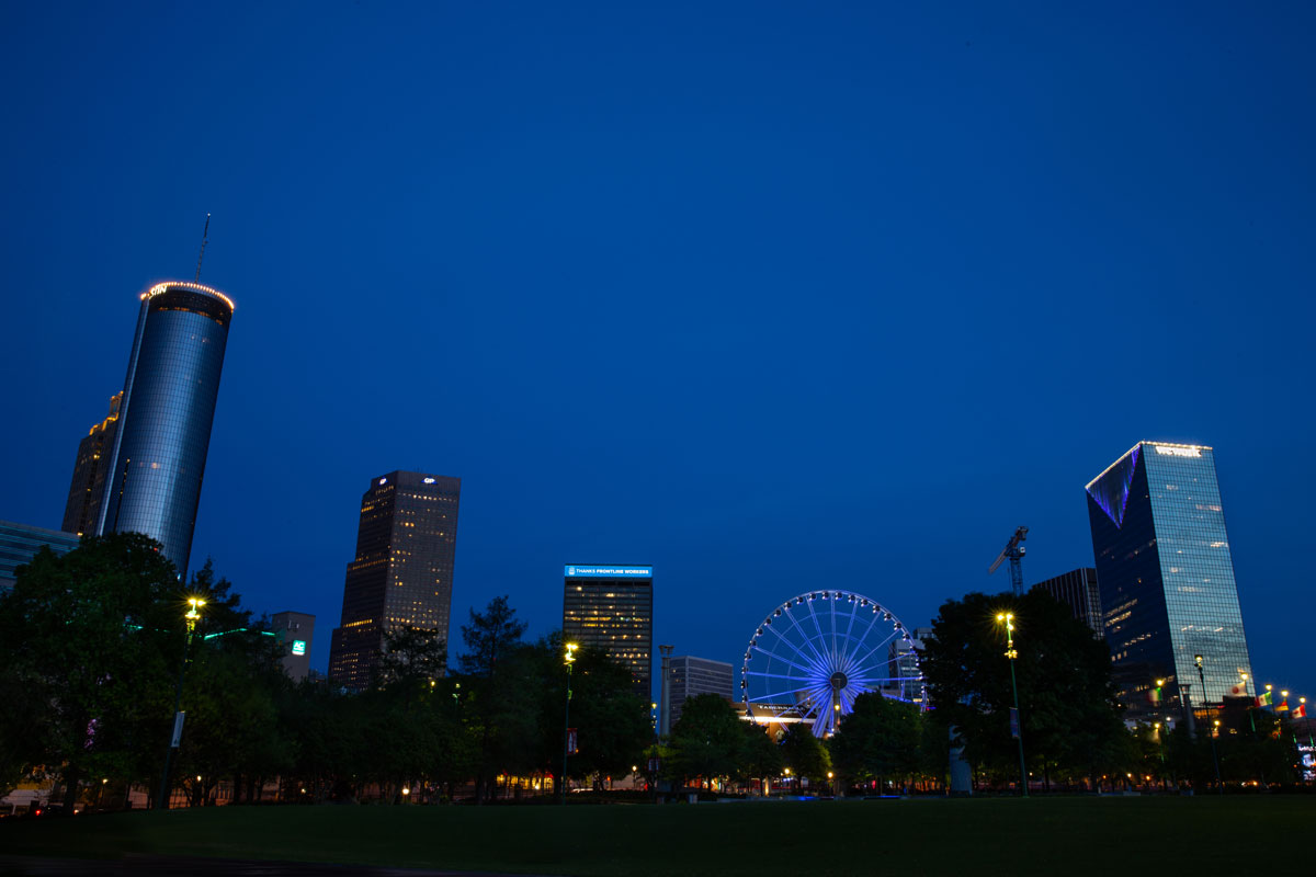 LightItBlue Atlanta