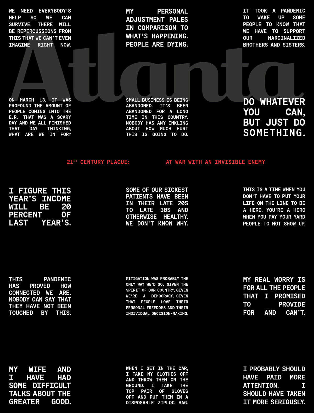 Atlanta Magazine May 2020 issue
