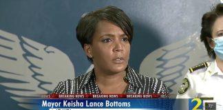 Keisha Lance Bottoms Mayor Speech Atlanta protest