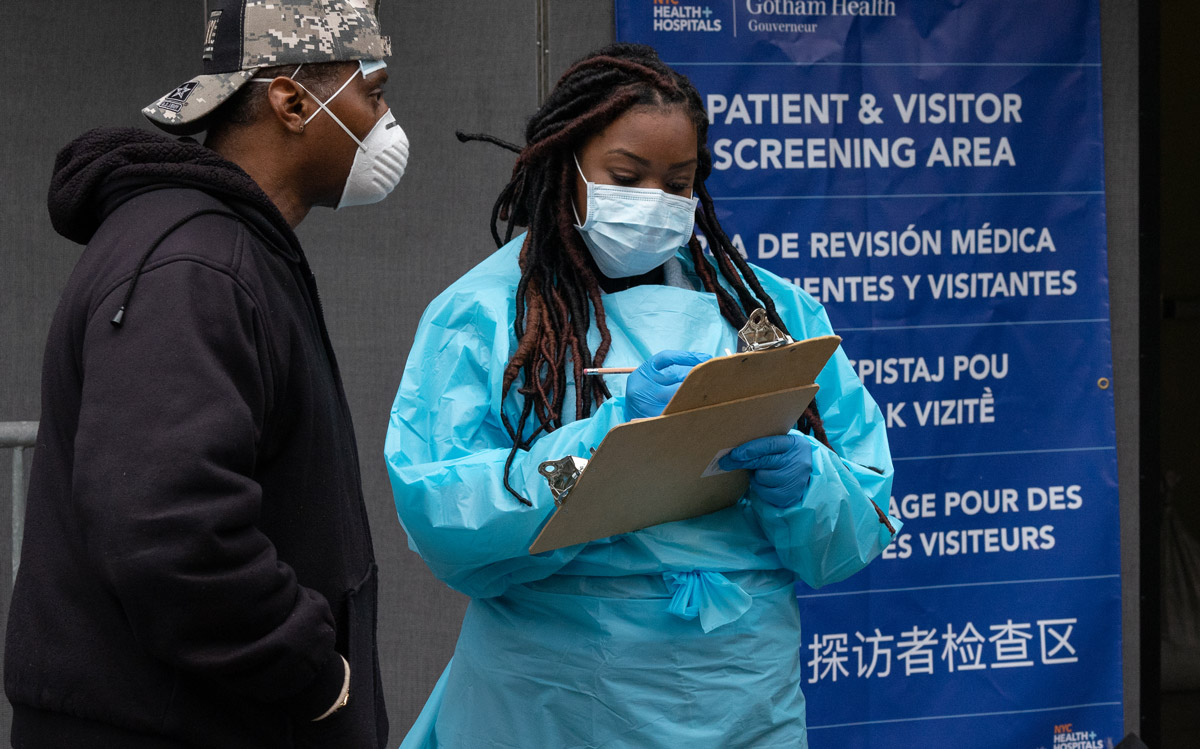 Coronavirus impacting black communities Atlanta Georgia