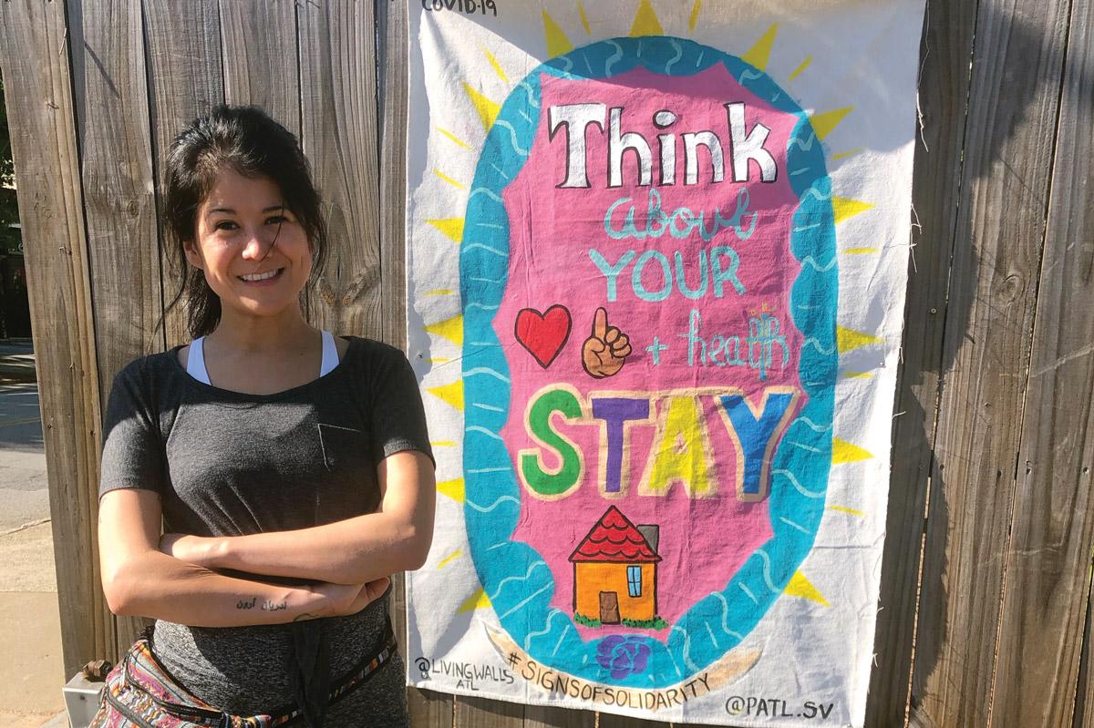 Living Walls Signs of Solidarity