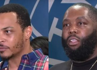 T.I. Killer Mike The Dream Atlanta celebrities speaking on protest