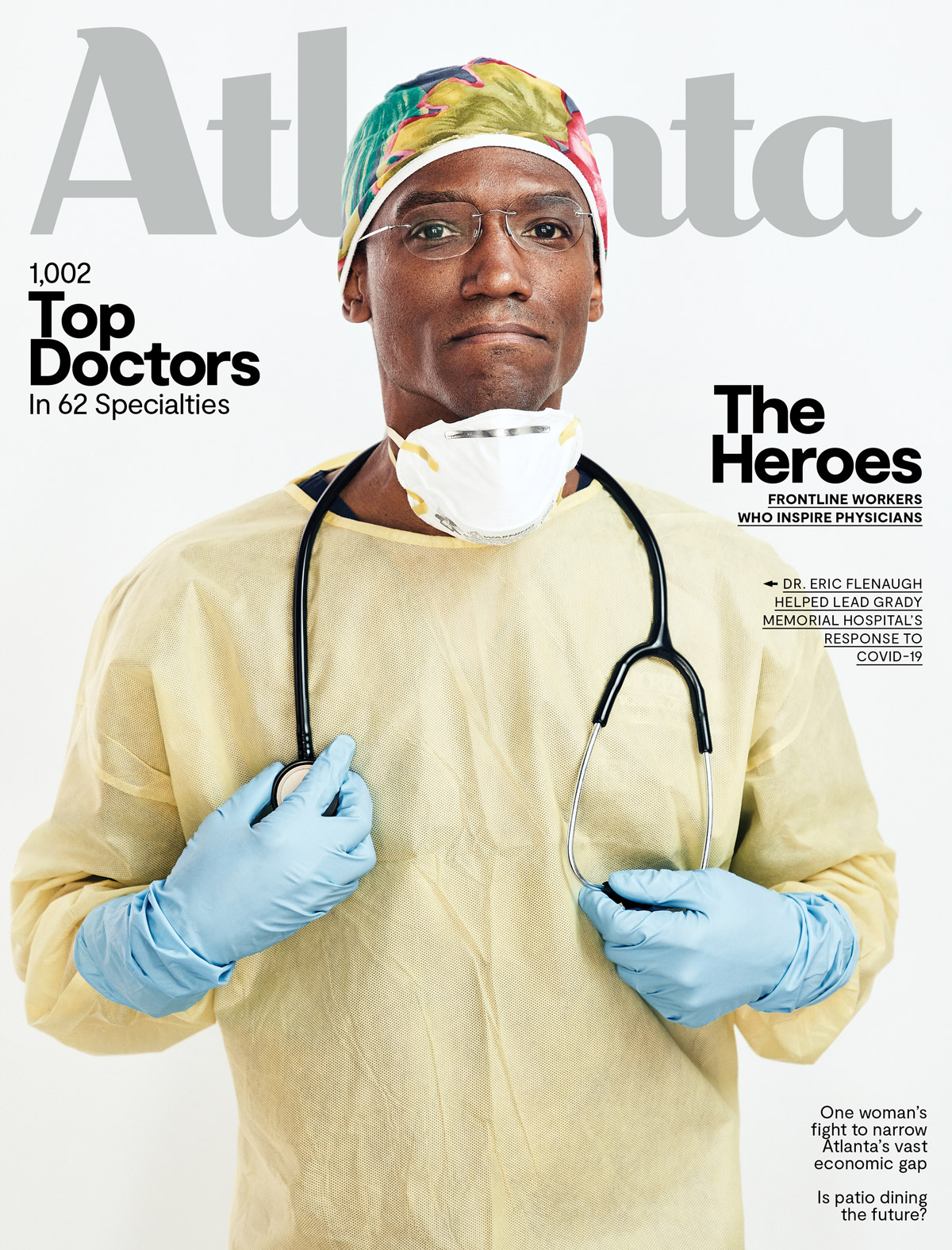 Atlanta Magazine July 2020 cover - Top Doctors