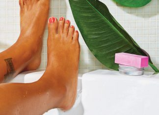 At-home spa treatments