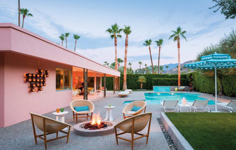 Inside this Atlanta designer's Palm Springs paradise