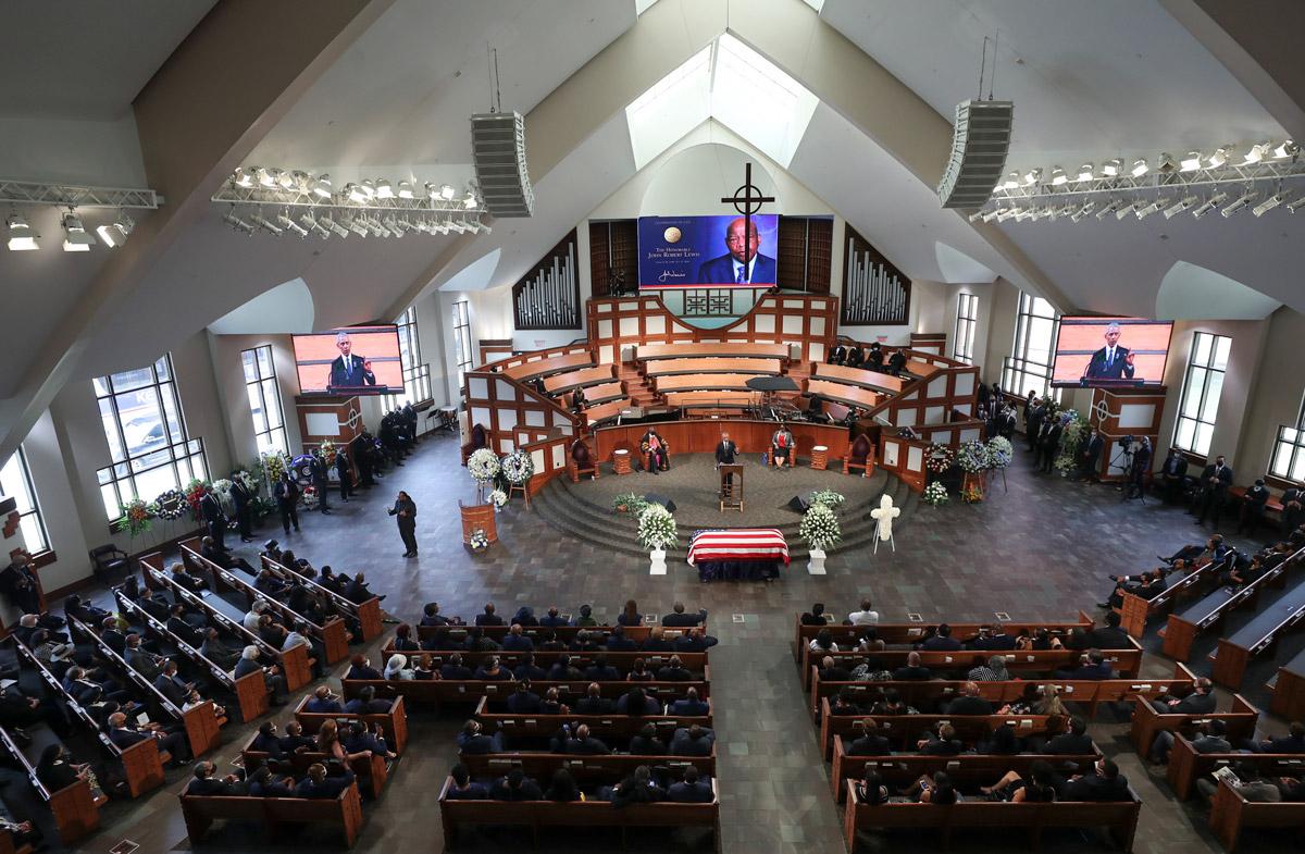John Lewis Funeral Atlanta