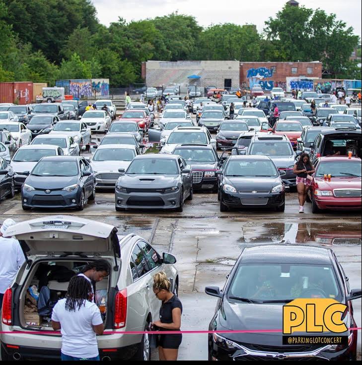 Parking lot concert series Atlanta