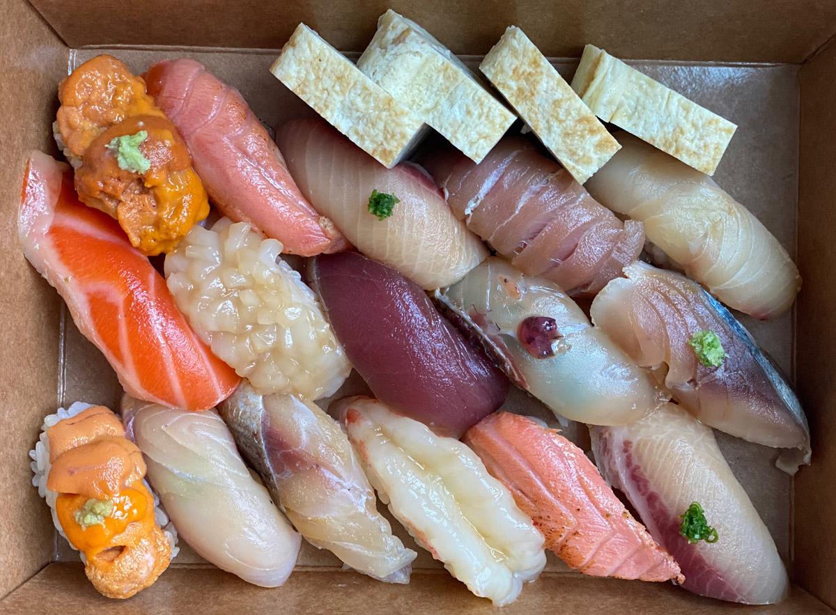 Where to get takeout sushi Atlanta