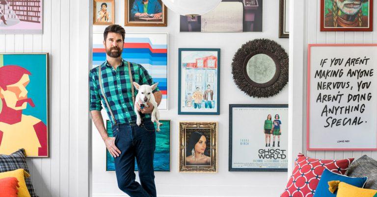 Inside HGTV star Brian Patrick Flynn's eclectic Buckhead home