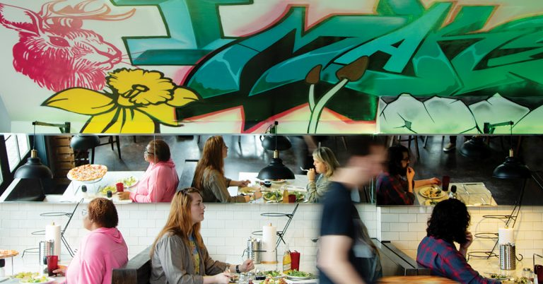 How Atlanta restaurateurs have championed the work of street artists