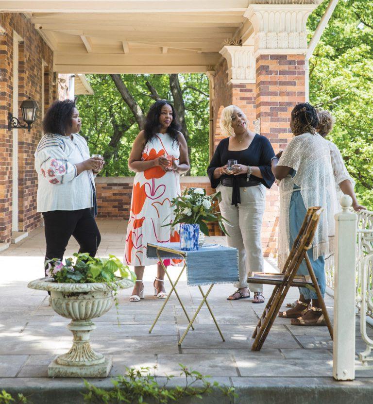 A Gullah Geechee reunion brunch at the Herndon Home