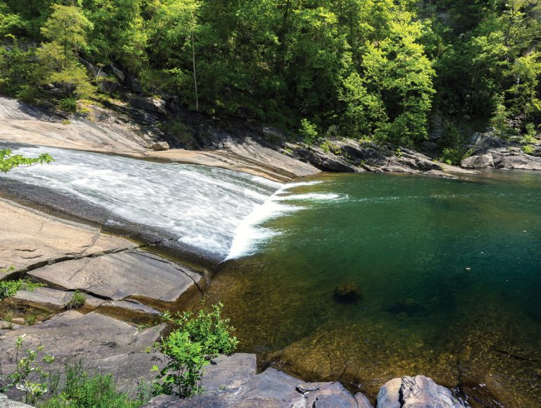 4 secluded swimming holes in the North Georgia mountains