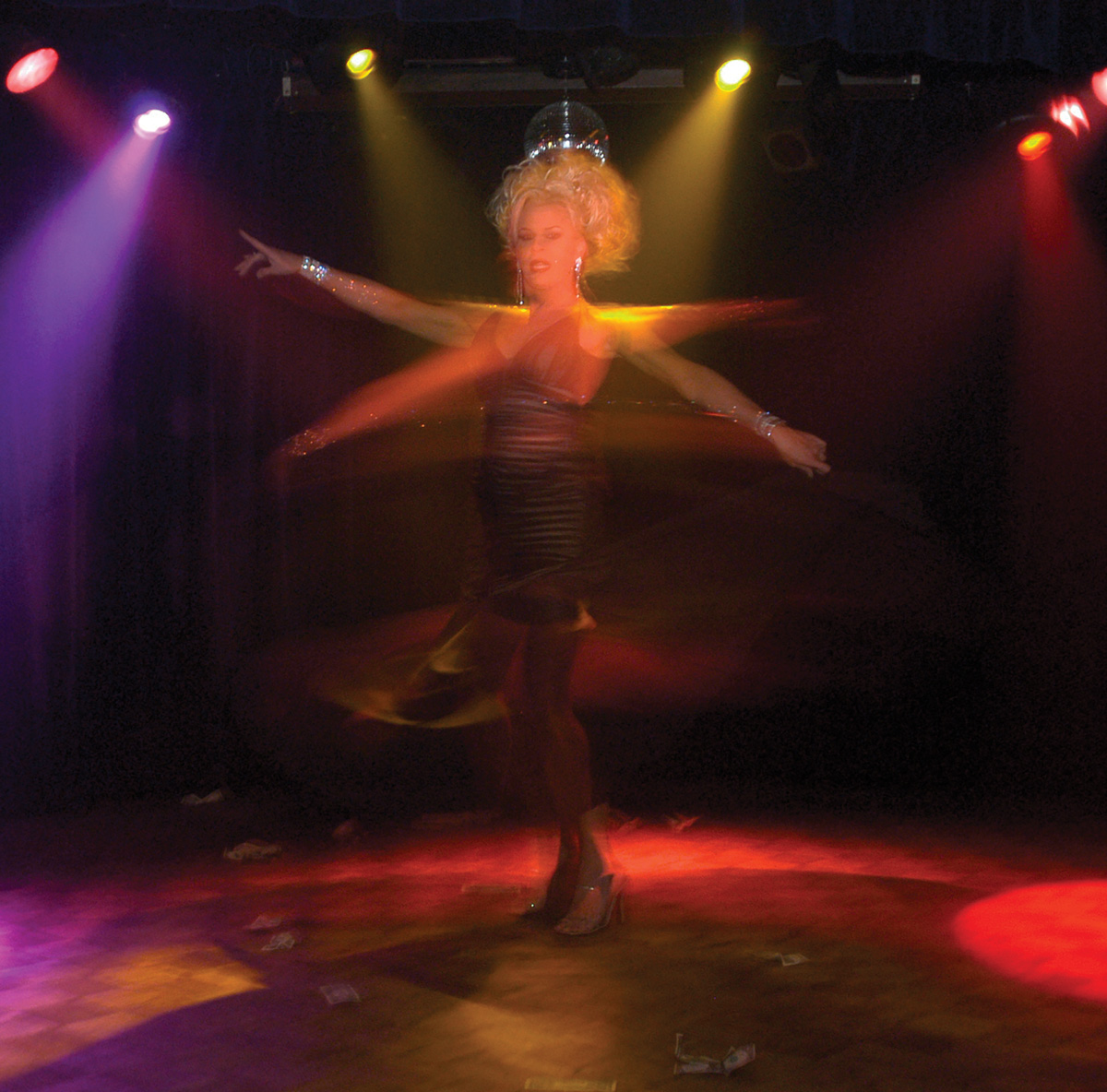"Cabaret performer Raven ""The Goddess"""