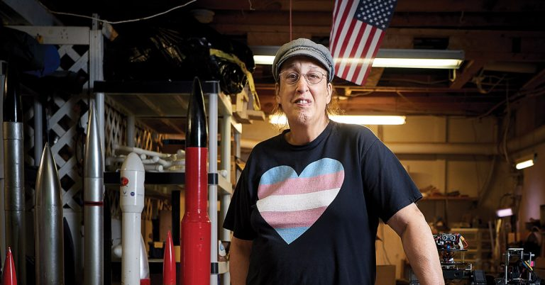 Meet the Navy veteran who created the trans Pride flag