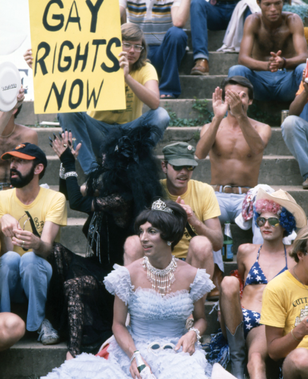 Participants in the 1977 Atlanta Pride Parade
