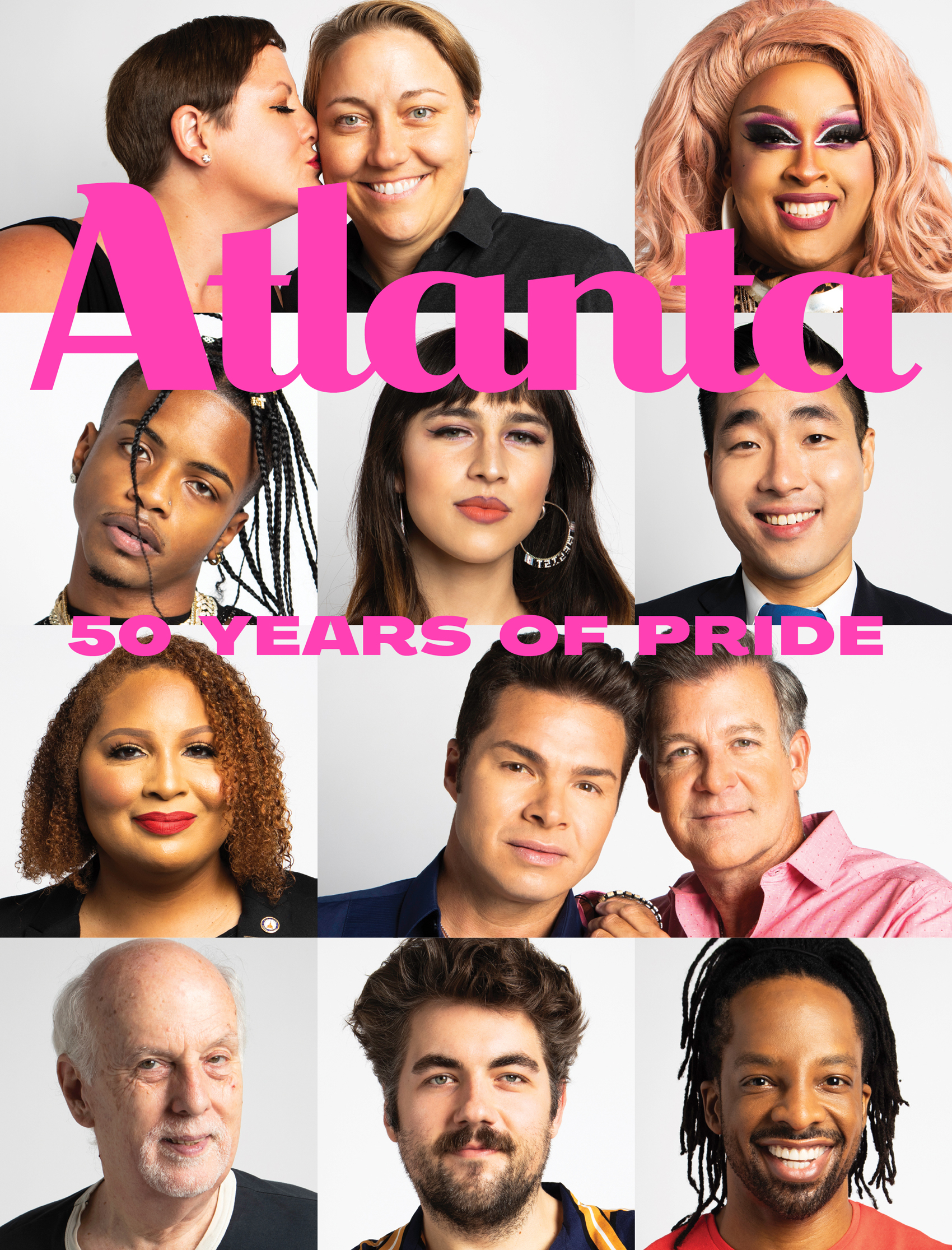 Atlanta Magazine October 2020 cover - 50 Years of Pride