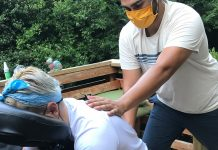 Massage in a pandemic