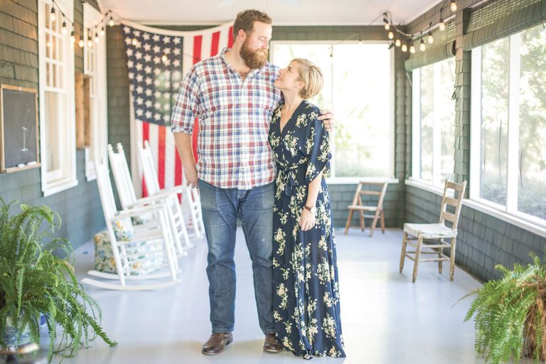 Ben and Erin Napier, stars of HGTV's Home Town, on their love for Laurel, Mississippi—and each other