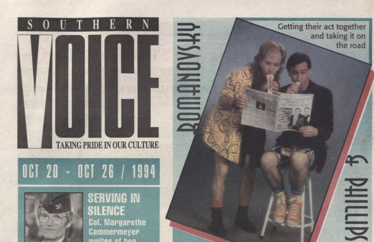 Why Southern Voice, Atlanta's LGBTQ+ newspaper, meant so much