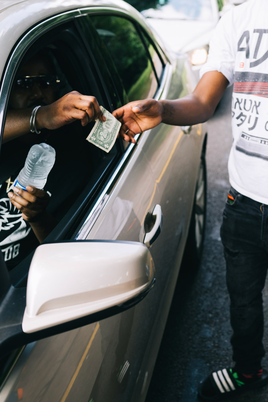 The water boy's hustle Atlanta