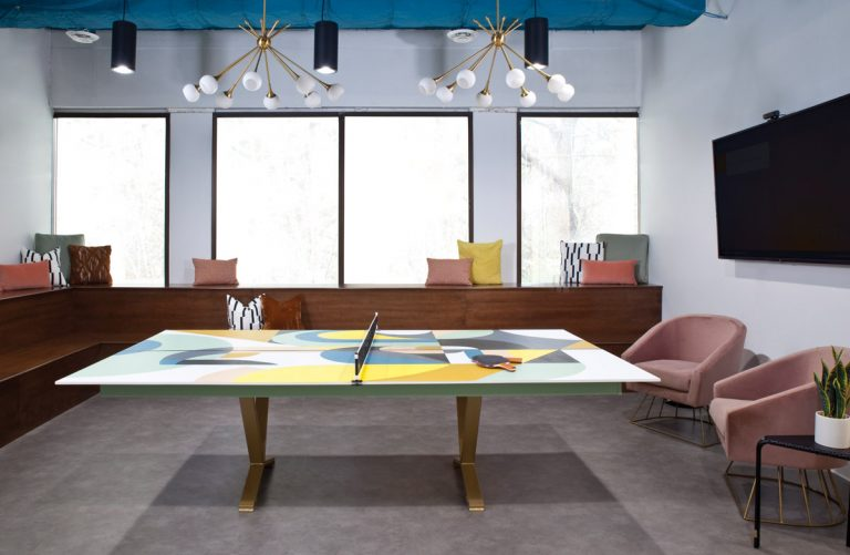 Room Envy: A groovy game room designed for energetic breaks