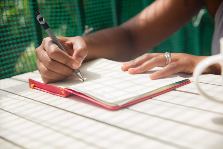 Journaling as a self-care practice