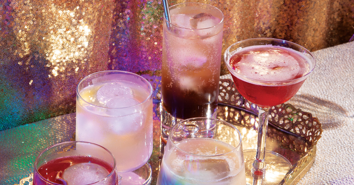 Cocktails to end 2020