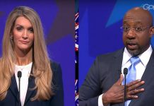 Kelly Loeffler Raphael Warnock debate