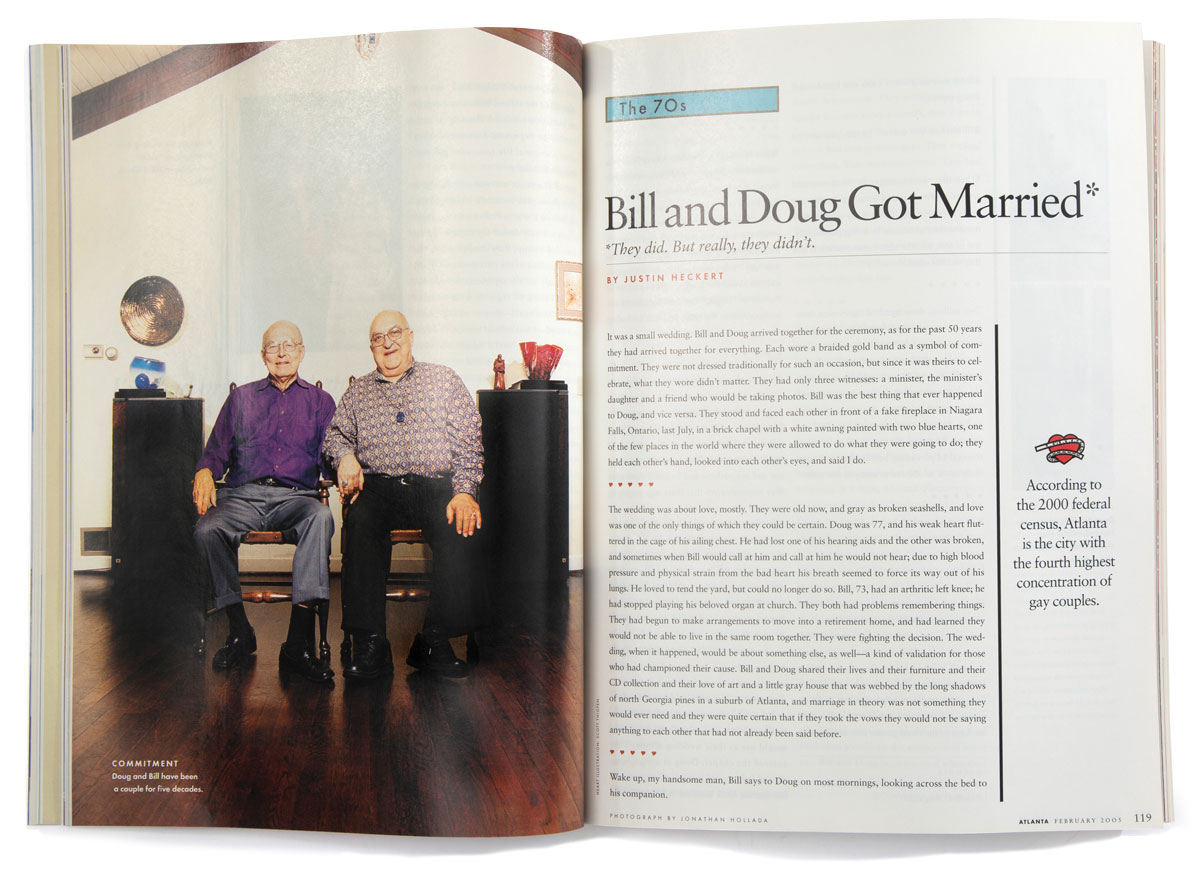 Bill and Doug Got married