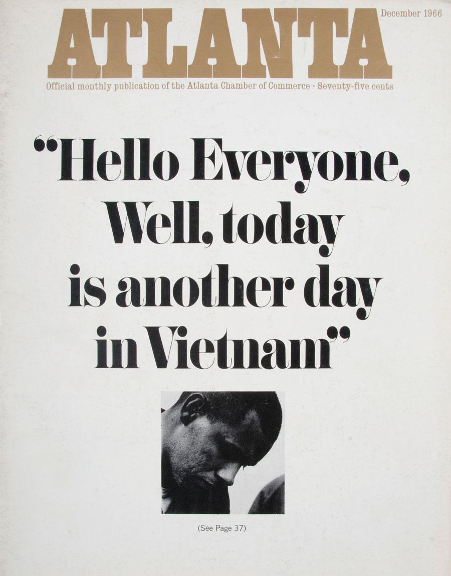 Atlanta Magazine December 1966