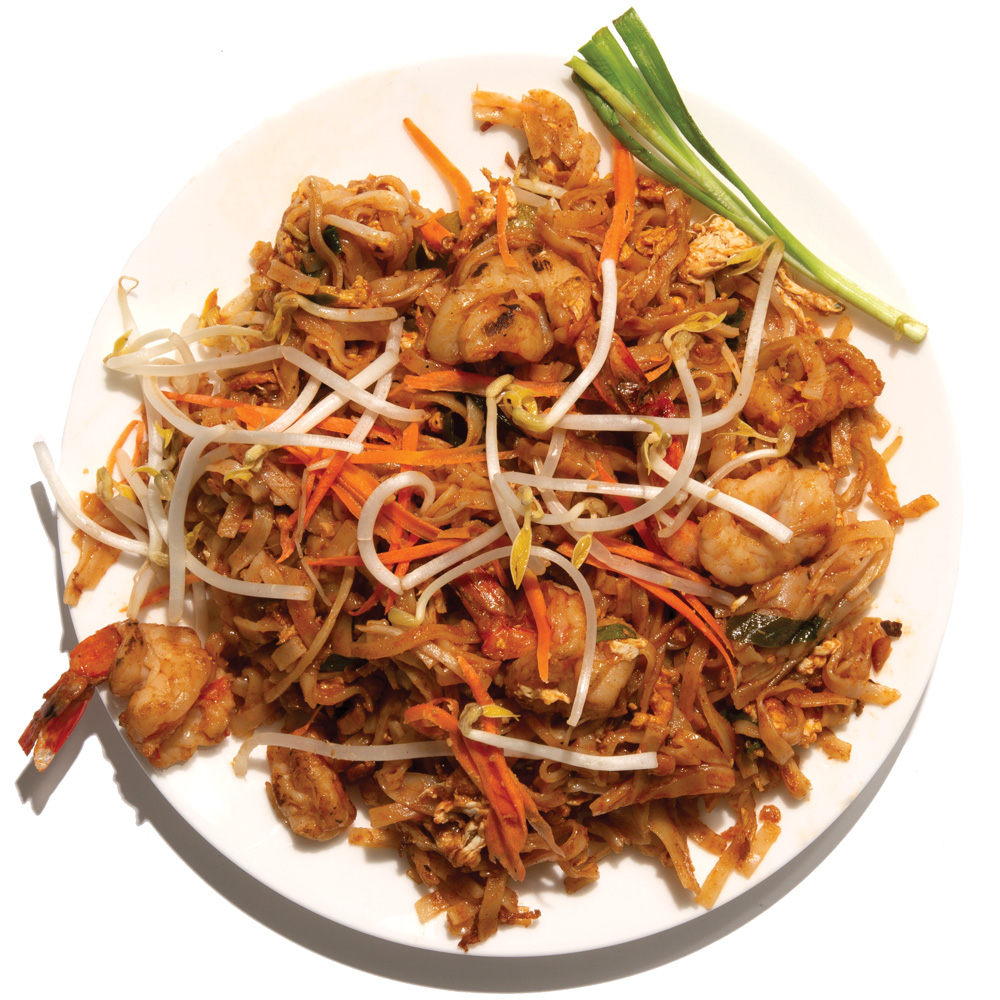 L'Thai: Pad thai boraan with shrimp