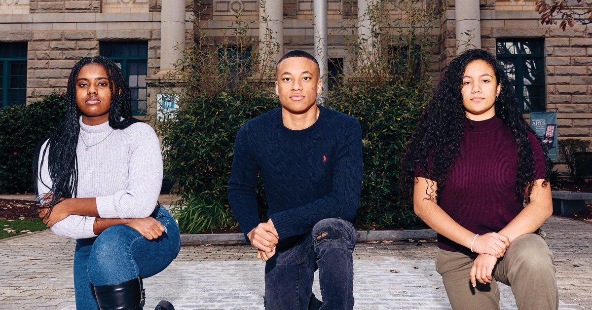 Decatur High School students ensure their city's monuments are on the right side of history