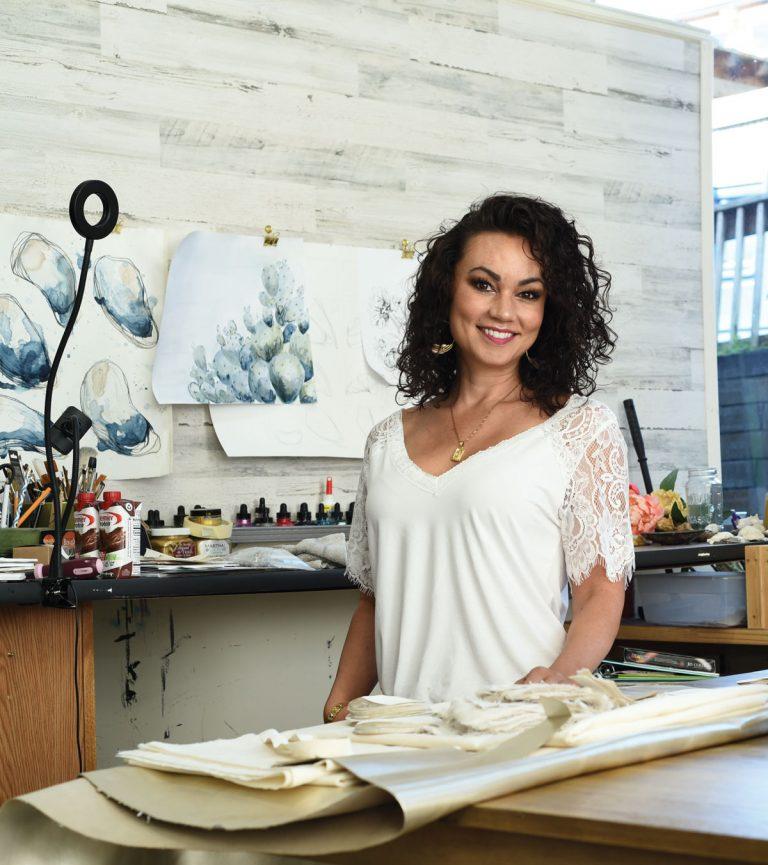For Suwanee artist Anita Darling, art is a devotion