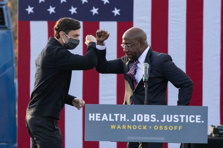 Georgia Democrats Warnock and Ossoff win, will flip the U.S. Senate