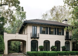 Norman Askins and Susan Bozeman historic Buckhead home