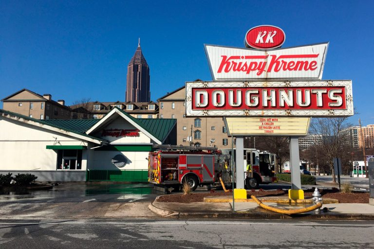 Atlantans heartbroken after fire destroys the Ponce Krispy Kreme