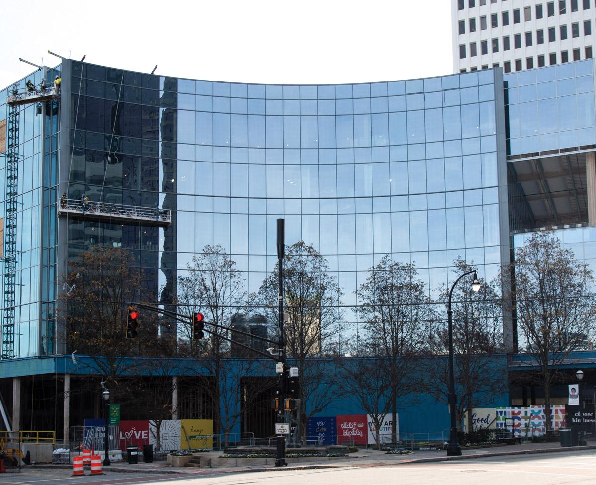 Atlanta pandemic development