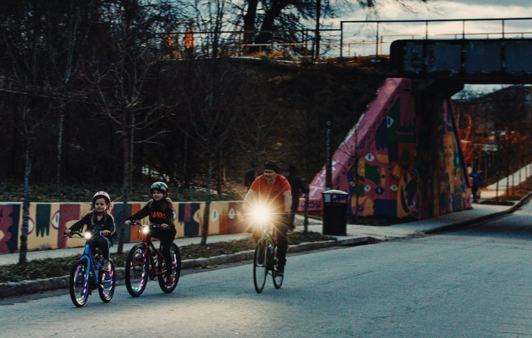 How to teach your kids to ride bikes safely in a city built for cars