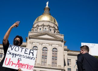Here's what's going on with voting legislation in Georgia