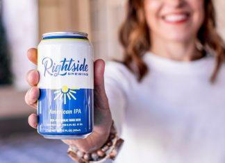 Rightside Brewing Atlanta nonalcoholic beer