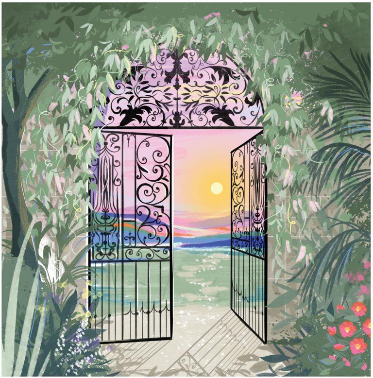 Pearl Cleage's fantasy garden