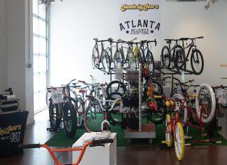 Made by Mars bike pop-up Atlantic Station